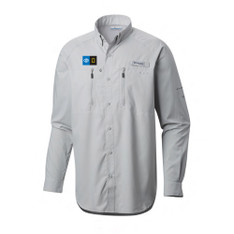 Men's Terminal Tackle L/S Woven Shirt With Embroidered Logo