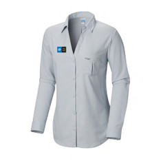 Women's Armadale L/S Shirt With Embroidered Logo