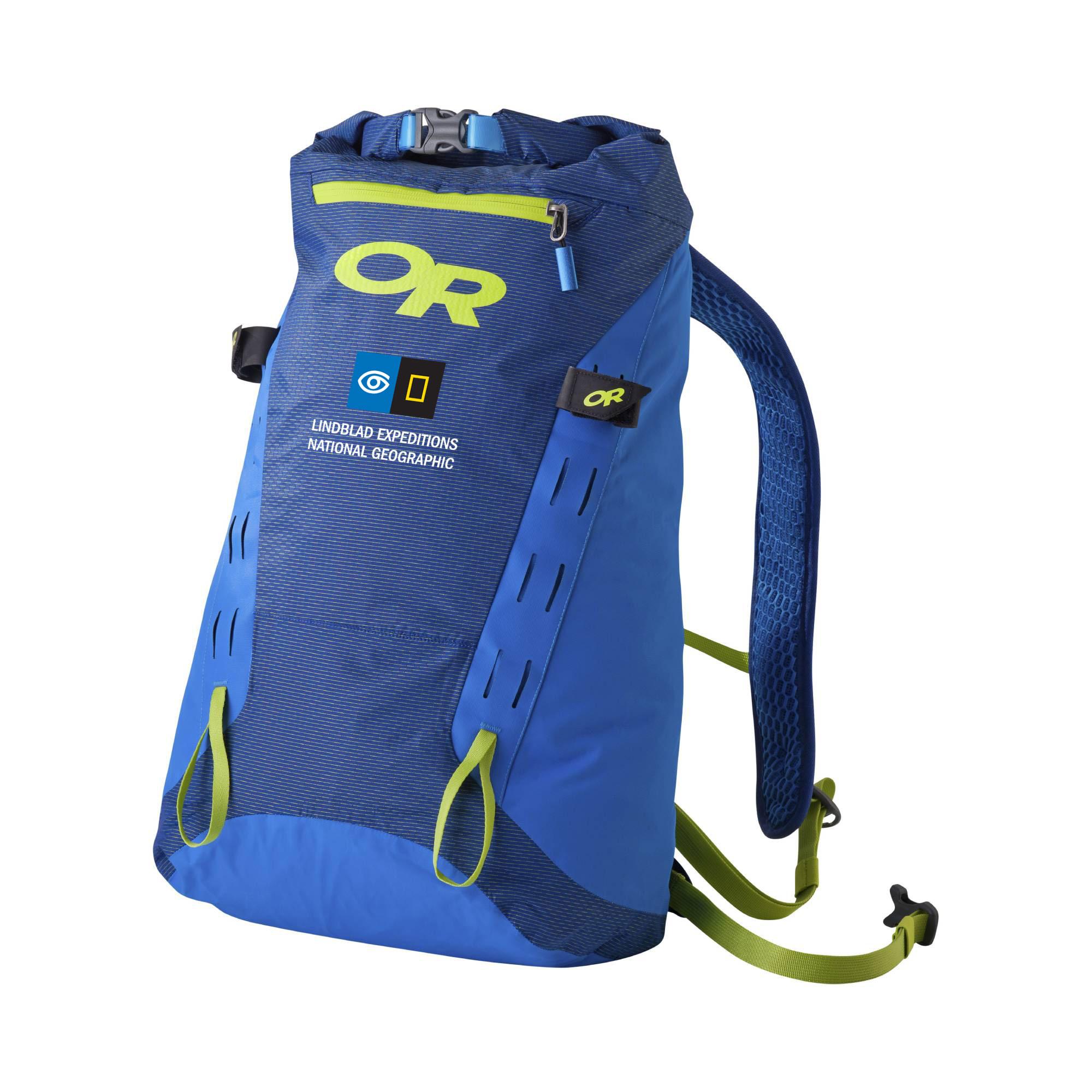 Dry Summit Pack LT with Lindblad Logo