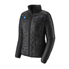 Women's Micro Puff Jacket With Embroidered Logo