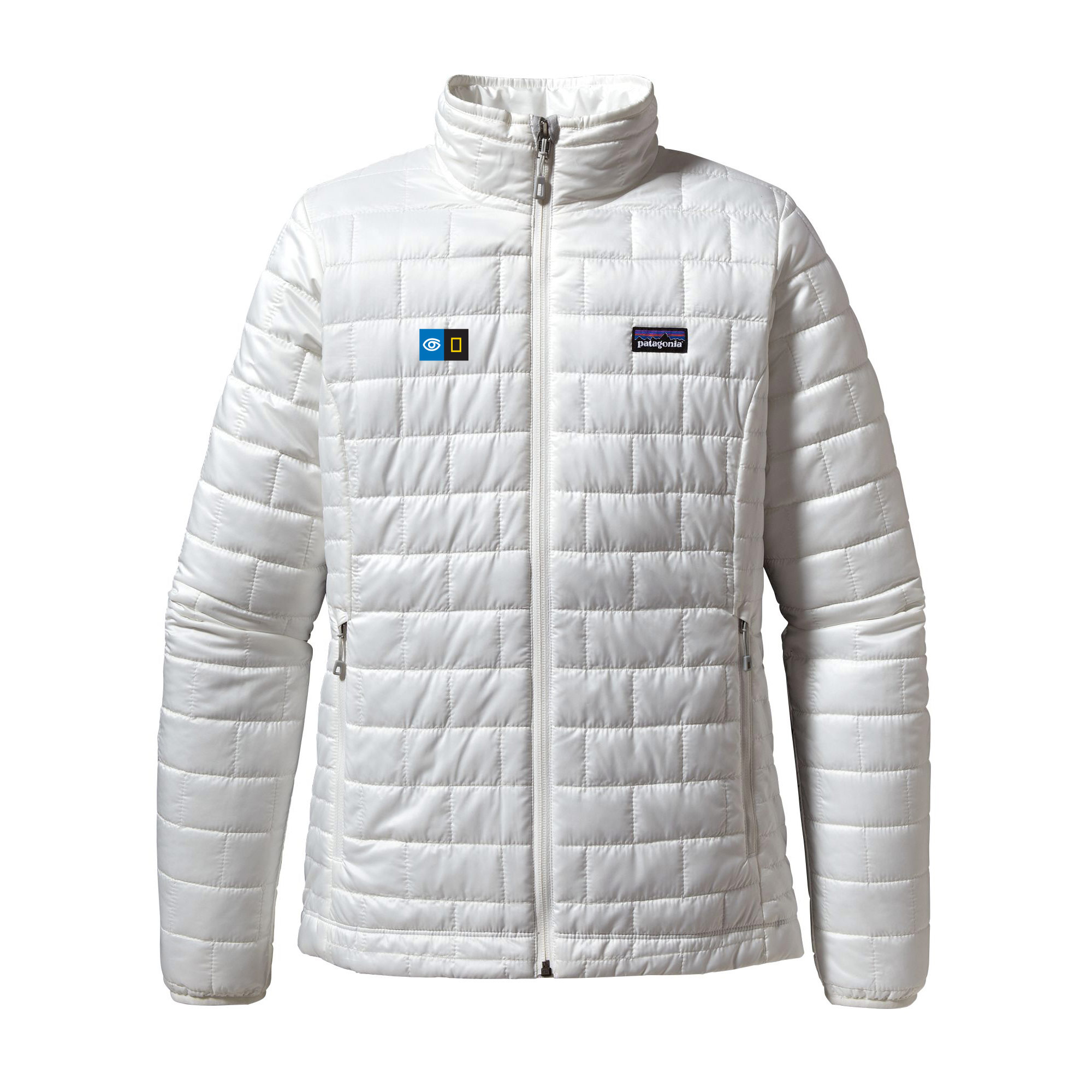 Women's Nano puff Jacket with Embroidered Logo